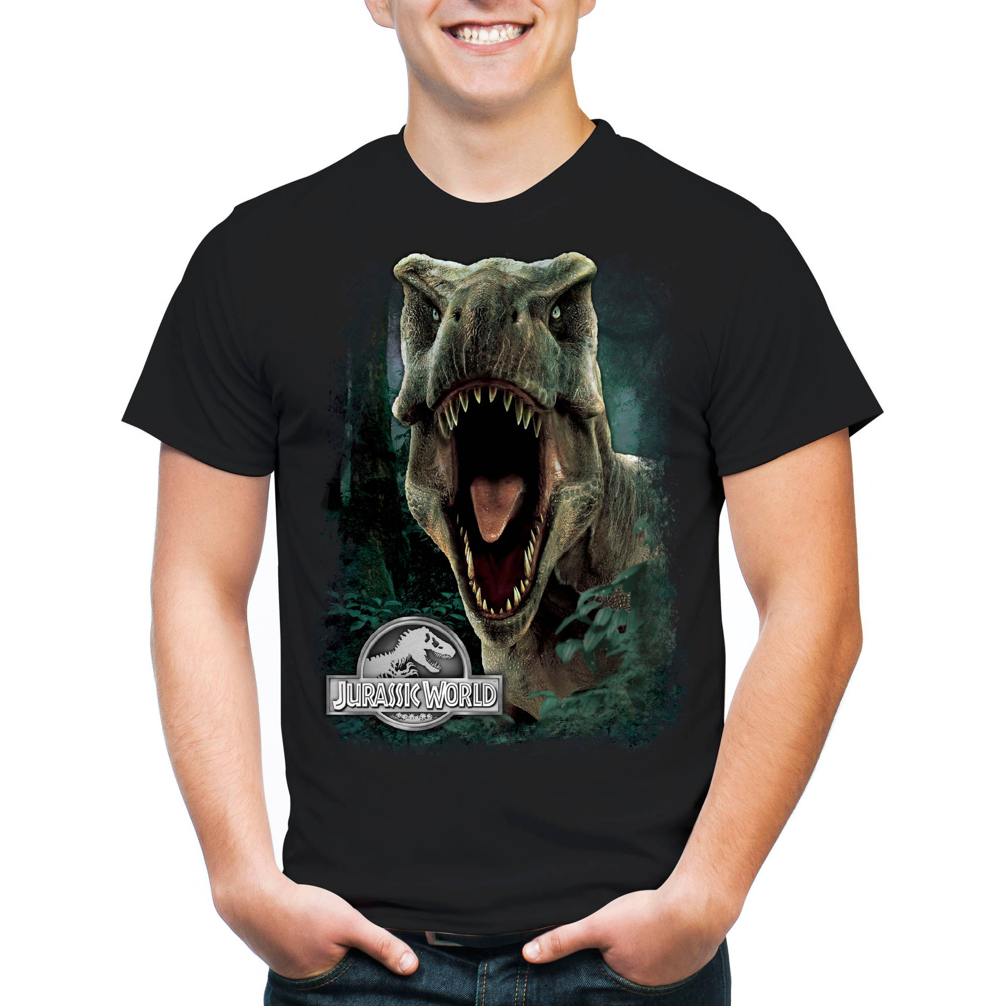 Jurassic World Men's T-Rex Short Sleeve T-Shirt