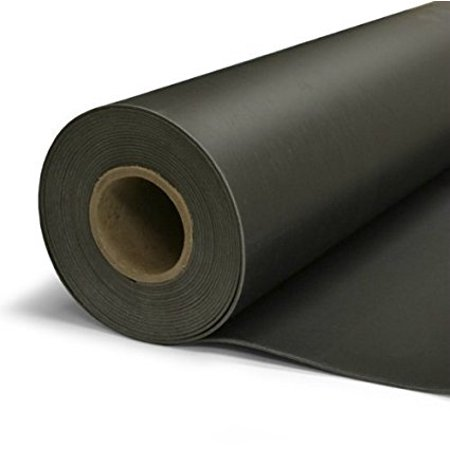 TMS Mass Loaded Vinyl, 4' x 10' (40 Square Feet) 1 Lb. MLV Acoustic (Soundproofing A Fence With Mass Loaded Vinyl)
