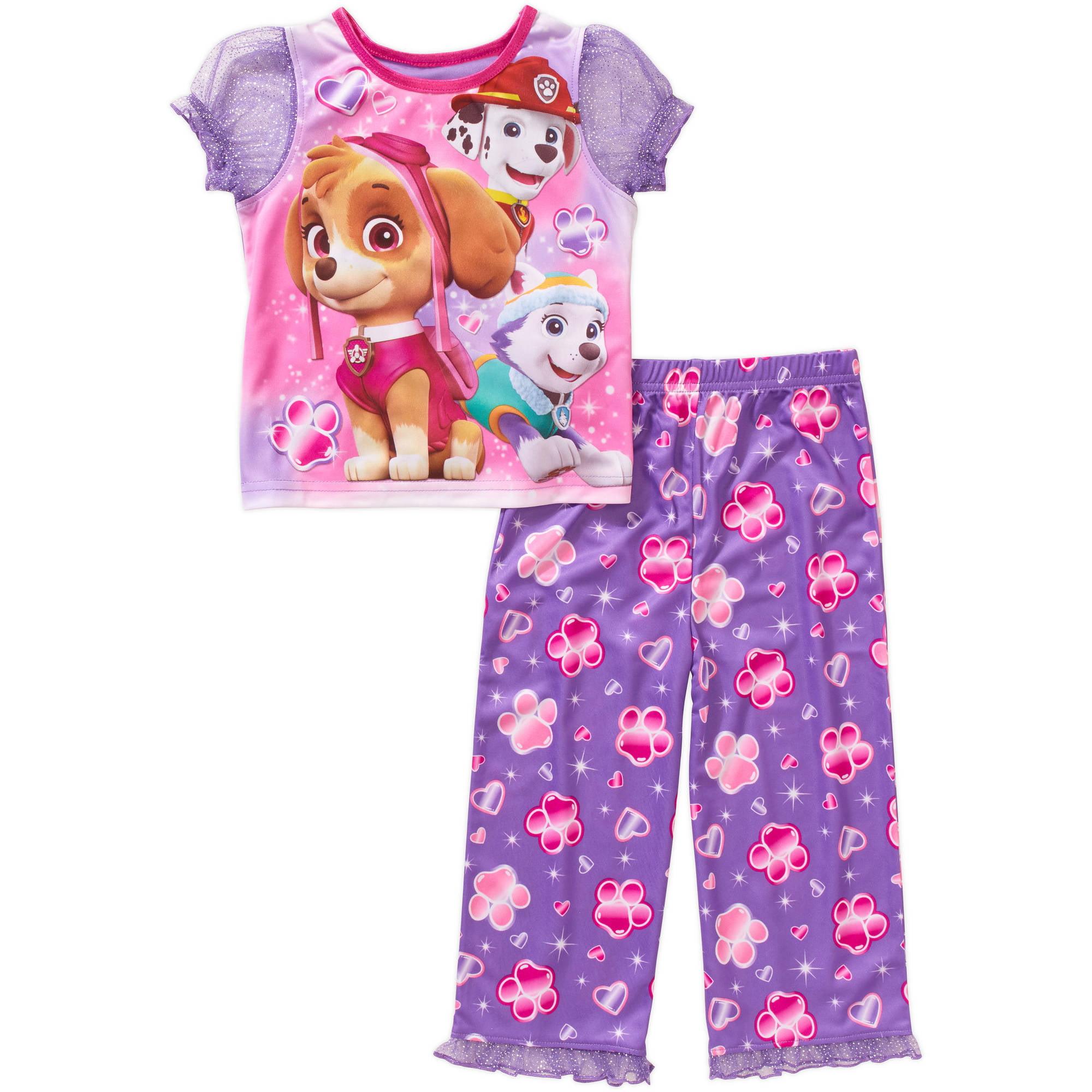 Toddler Girl Sleepwear-paw Patrol - Walmart.com