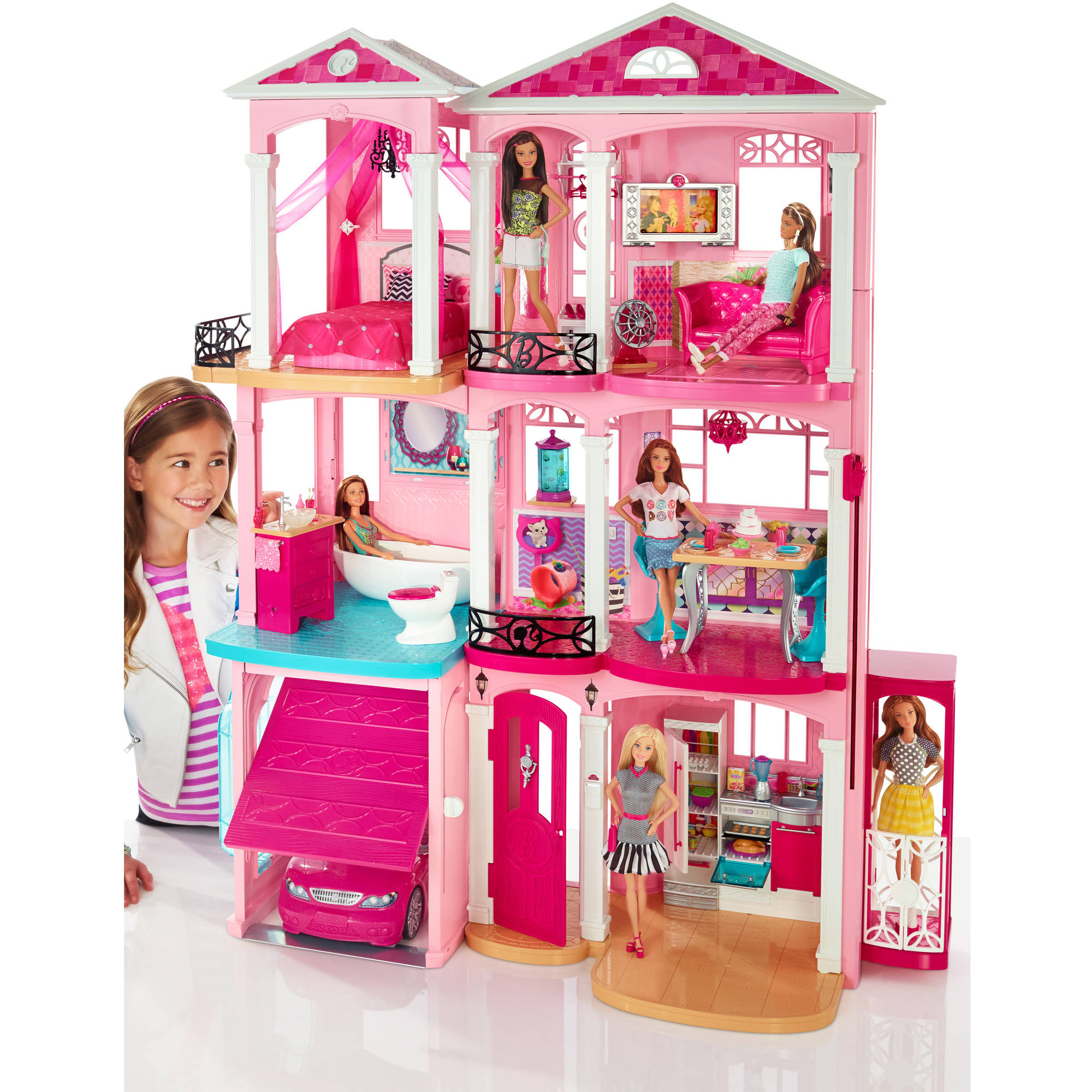 . Barbie Dreamhouse   Walmart com