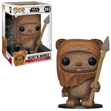 Funko POP! Movies: Star Wars - 10u0022 Wicket W. Warrick (Target Exclusive)