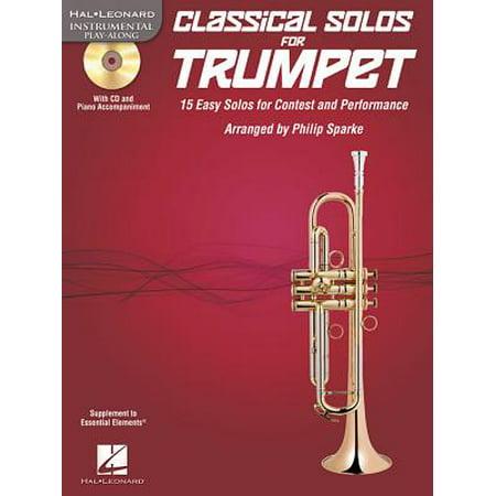 Classical Solos for B-Flat Trumpet B-flat Trumpet Book