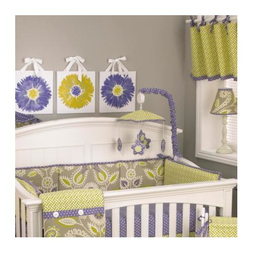 Cotton Tale Periwinkle Nursery Mobile