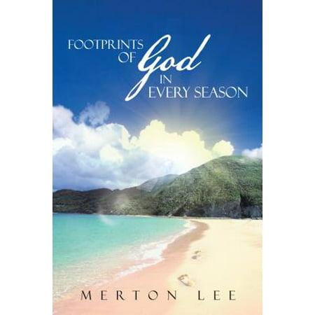 Footprints of God in Every Season - eBook - One Set Of Footprints