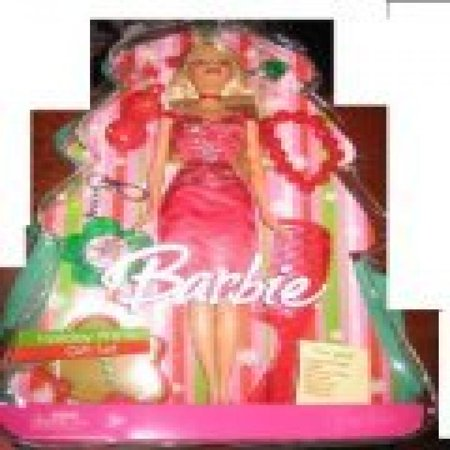 2006 Target Exclusive Holiday Wishes Barbie Doll - Halloween Barbie Target