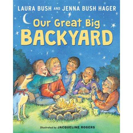 Our Great Big Backyard](Laura Bush Halloween)