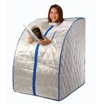 Precision Therapy - Portable Far Infrared Sauna With Ceramic Heater And Negative Ion