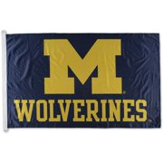 WinCraft Michigan Wolverines 3' x 5' Single-Sided Horizontal Flag