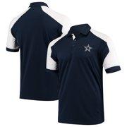 Dallas Cowboys Antigua Century Raglan Polo - Navy/White