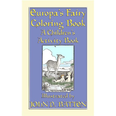 EUROPA'S FAIRY TALES COLORING BOOK - A Children's Activity Book - eBook Fairy Tale Activity