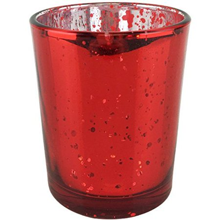 Just Artifacts (Bulk Mercury Glass Votive Candle Holder 2.75
