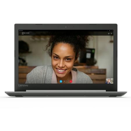 "Lenovo ideapad 330 15.6"" Laptop, Intel Core i3-8130U Dual-Core Processor, 4GB RAM, 1TB Hard Drive, Windows 10 - Platinum Grey - 81DE00LAUS"