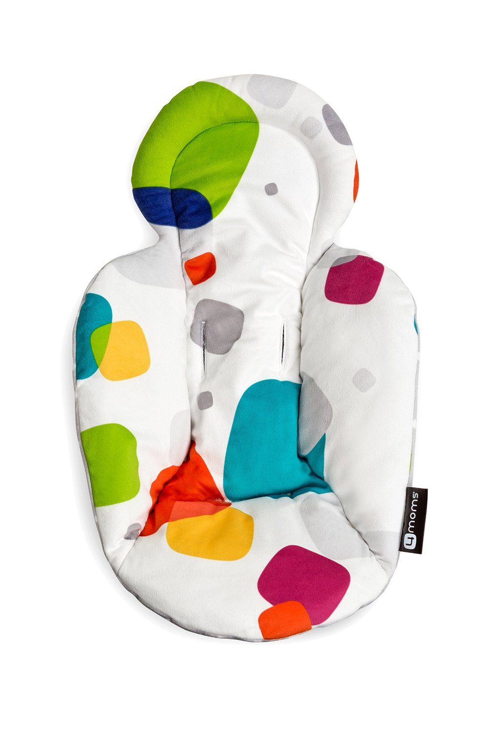 , Infant Seat and Swing Insert, Multi Polka Dot Plush, Seat Plush and Swing Dot Infant Insert MultiPolka By... by 4moms