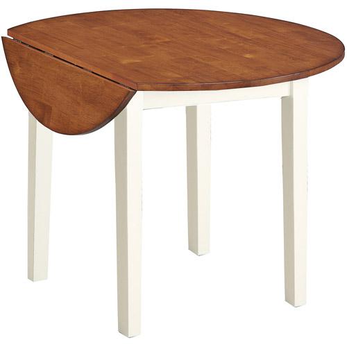 Imagio Home Drop Leaf Arlington Dining Table, Green and Java