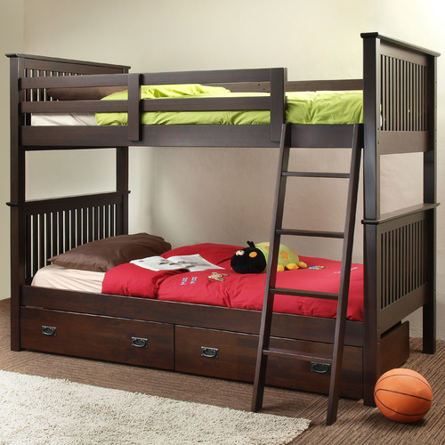 Chateau Imports Jace Twin over Twin Bunk Bed