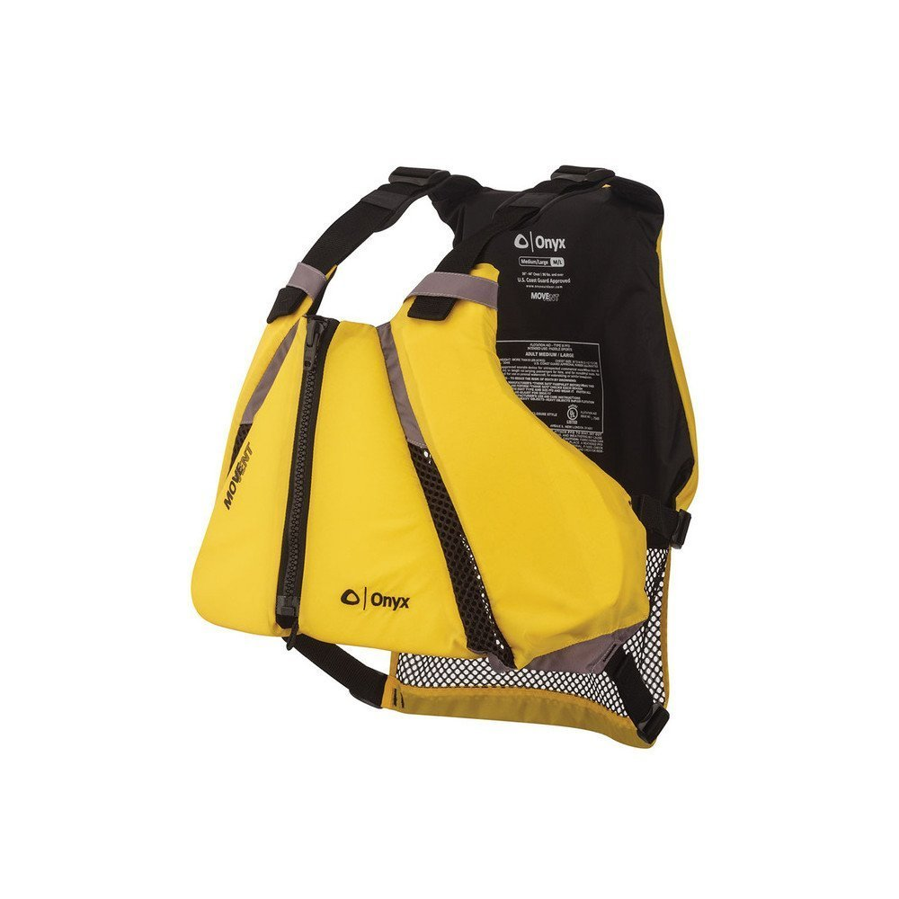 Life Vest, Onyx Movevent Medium-large Women Men Youth Boat Life Vest Kayak by Absolute Outdoor, Inc.