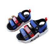 Clearance Sale Children'S Sandals New Korean Summer Boys Shoes Non-Slip Middle And Small Girls Boys Beach Shoes Baby Shoes black 29