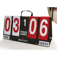 "BSN SPORTS™ Portable Manual Scoreboard 11""H x 23""L"