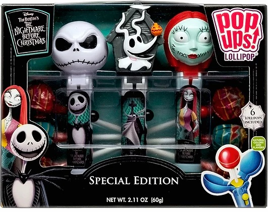 Nightmare Before Christmas Birthday Party Suckers Lollipops Set of 8 Jack