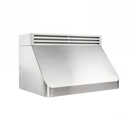 ZLINE Kitchen and Bath ZLINE 30 in. 1000 CFM Recirculating Under Cabinet Range Hood in Stainless Steel (Best Recirculating Cooker Hood)