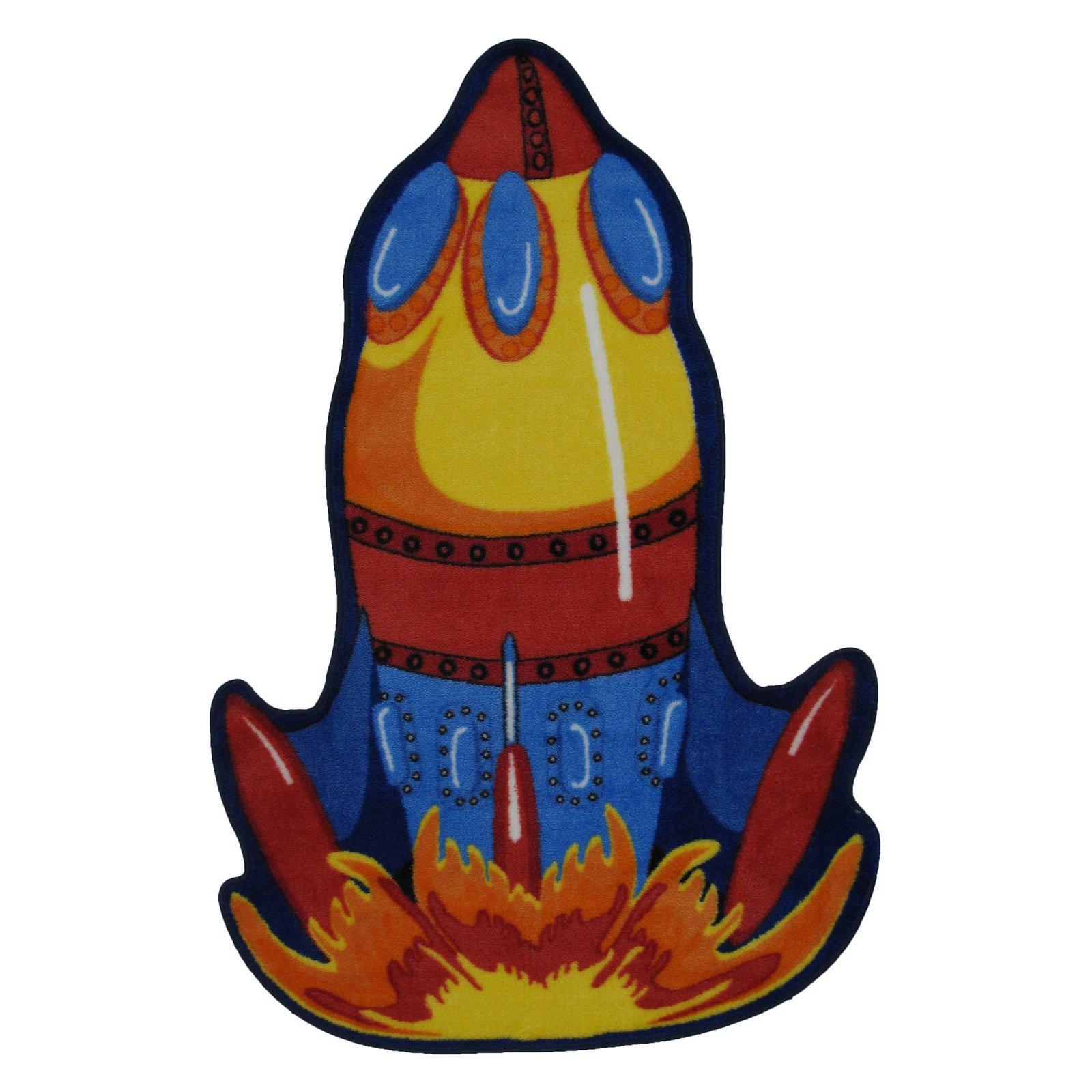 "Fun Rugs Rocket 39"" x 58"" Rug"