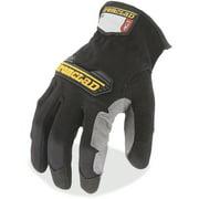 Ironclad, IRNWFG03M, WorkForce All-purpose Gloves, 2 / Pair, Black,Gray