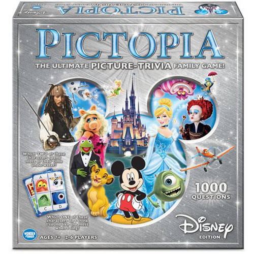 Disney Edition Pictopia: Picture-Trivia Game by Wonder Forge