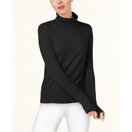 Cable & Gauge- Ribbed Turtleneck Sweater-Regular-LARGE