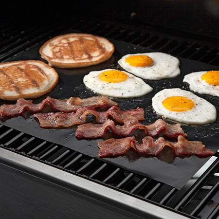 Best Non-Stick Grilling Mats, 2 Pack, BBQ deal