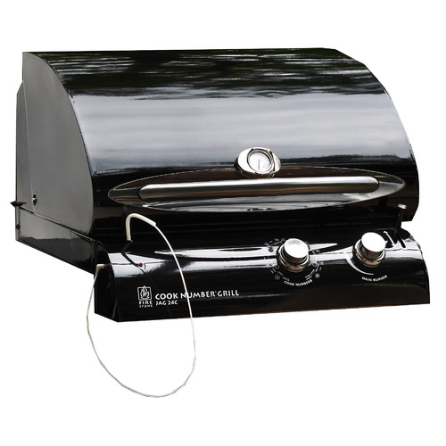 The Outdoor GreatRoom Company Cook Number 1-Burner Built-In Propane Gas Grill with Cabinet