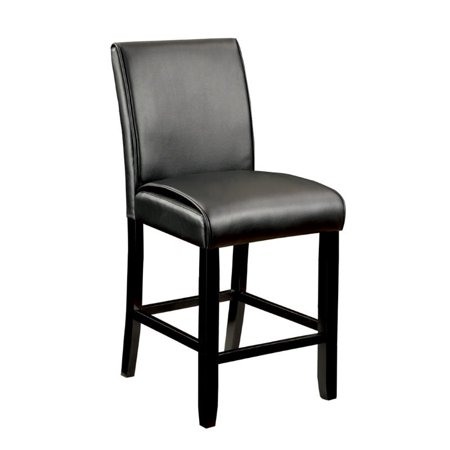 Groovy Furniture Of America Ramsy 25 5 Counter Stool In Black Set Of 2 Machost Co Dining Chair Design Ideas Machostcouk