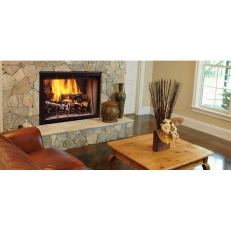 Majestic 36 See Thru Radiant Wood Burning Fireplace Walmart Com