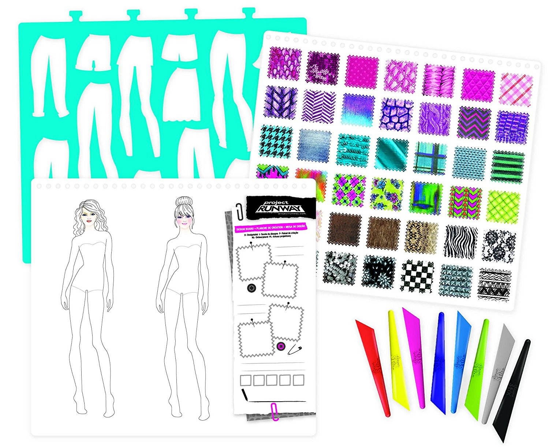 Project runway fashion design sketch portfolio 16