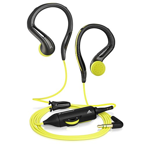 Refurbished Sennheiser OMX 680 Sports In-Ear Headphones Gray/Yellow