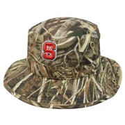 "North Carolina State Wolfpack NCAA TOW ""Boonie Max"" RealTree Camo Bucket Hat"