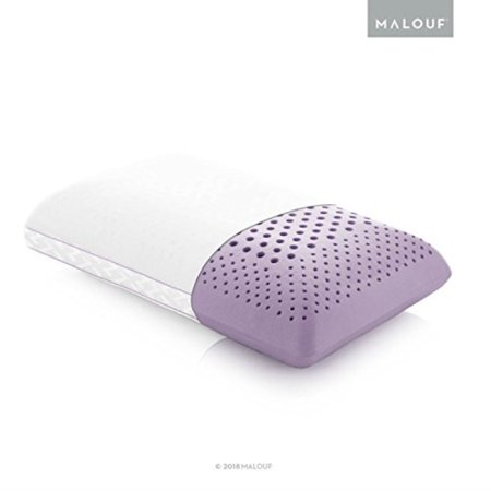 Z Zoned ACTIVEDOUGH Pillow Infused with All Natural Lavender Oil Feels Like Blend of Latex and Memory Foam Mid Loft Queen