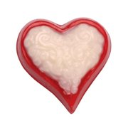 Make N Mold 3089 Scrolled Heart Minis- pack of 6