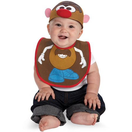 Mr Potato Head Bib and Hat Infant Costume](Baseball Head Costume)
