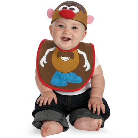 Mr Potato Head Bib and Hat Infant Costume - Falling Head Costume