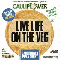 CAULIPOWER 10 in. Gluten-Free Cauliflower Pizza Crust, 2-Pack