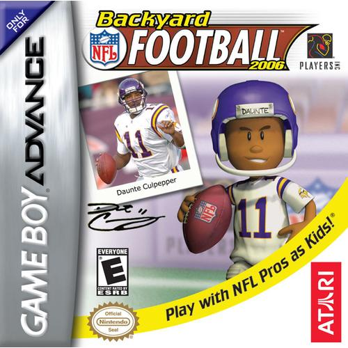 Backyard Football 2006 (GBA) (Pokemon Games For My Boy Gba Emulator)