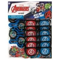 Avengers Party Favors for 8, 48pcs