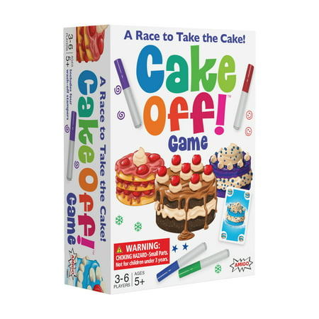 Cake Off! Kids Card Game with Wash-off Markers](Cake Halloween Games)