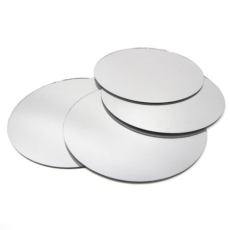 Round Mirror Table Scatter, 5-Inch, 5-Count ()