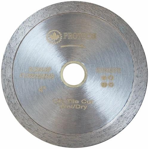 """Protech BCR040HP 4"""" Continuous Rim Premium Tile Blade"""