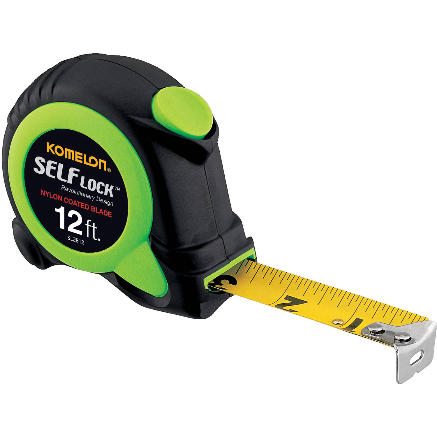 Komelon 12' Self-Lock Tape Measure