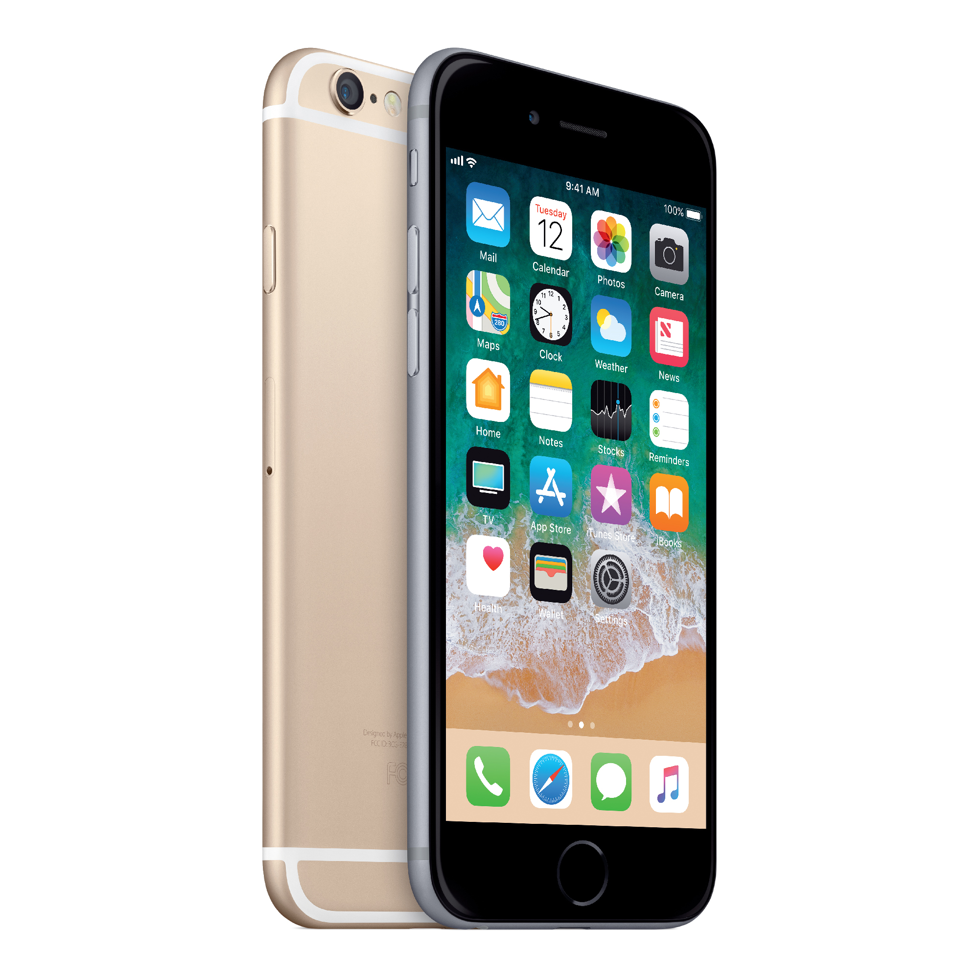 Straight Talk Apple Prepaid iPhone 6 with 32GB, Gold Sales of Prepaid Phones are restricted to no more than (2) devices per customer within a 21-day period (across Brands)