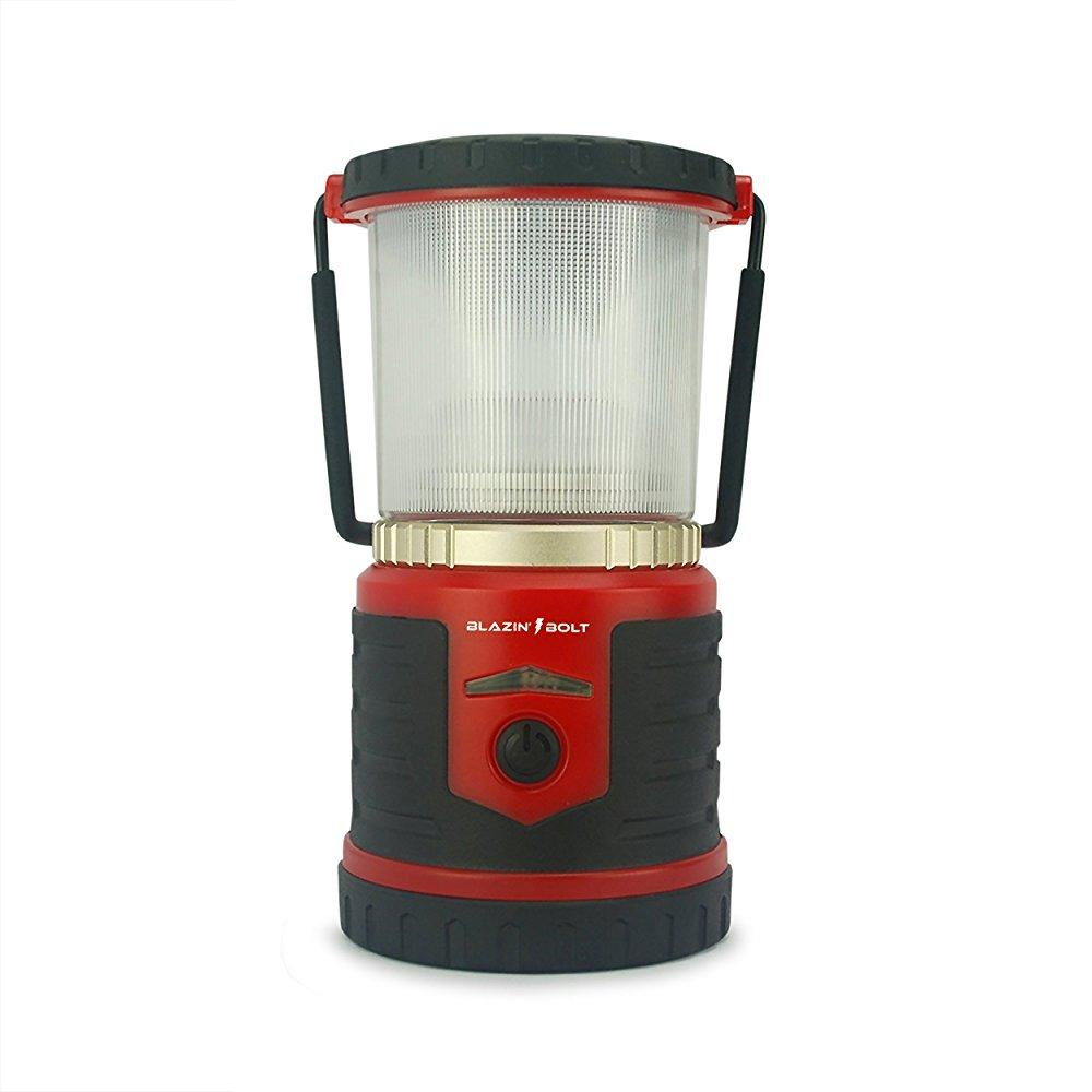 rechargeable emergency led lantern by blazin' bison | pow...