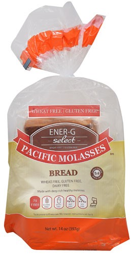 Ener-g Foods Gluten Free SeleCt Pacific Molasses Bread, 14 Oz by Ener-g Foods Gluten Free
