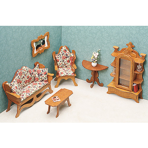 Dollhouse Furniture Kit-Living Room